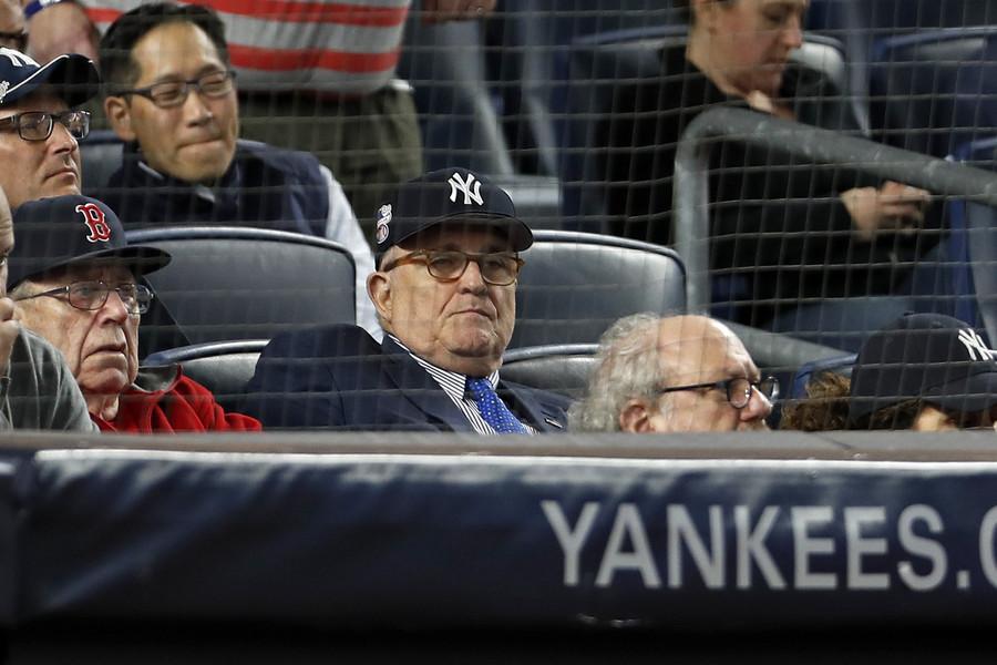Rudy Giuliani gets booed during birthday wishes at Yankee Stadium (VIDEO)