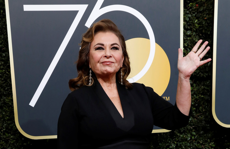 'Roseanne' canceled after star's racist tweets