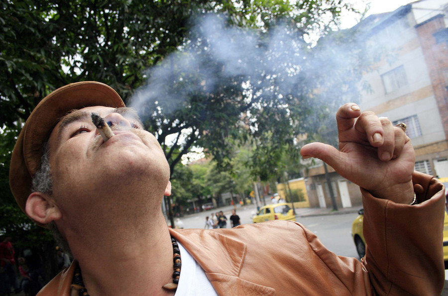 Brits becoming increasingly relaxed about cannabis … man