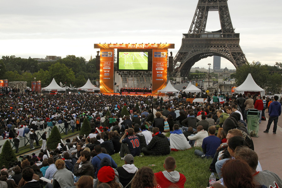 'Climate of terrorist threats': France bans big screen zones for World Cup public viewing