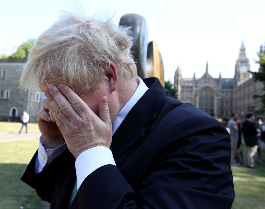 Someone tell Boris that Babchenko's alive!  Putin critics are catnip for Britain's Foreign Secretary