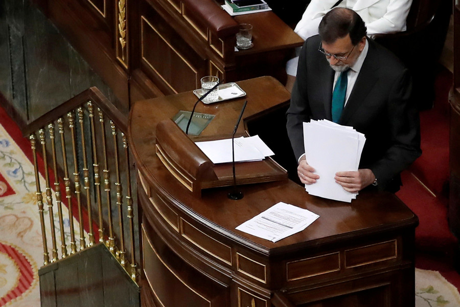 'Your time is up. Resign!' Spain's PM Rajoy to be ousted over corruption scandal
