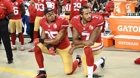 Kaepernick's ex-teammate says teams colluded not to sign him over anthem protest, files grievance