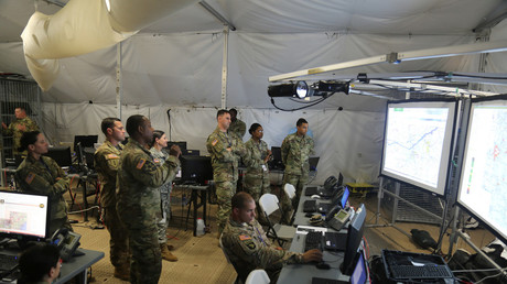 US cyber warfare training