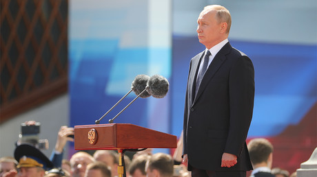 Putin prioritizes economic breakthrough, quality of life in swearing-in speech