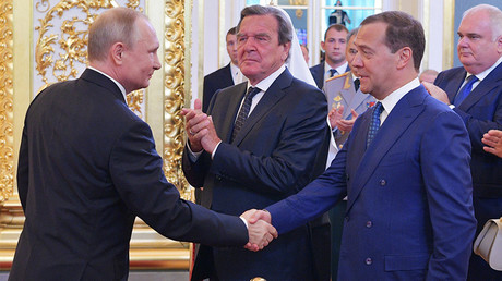 Putin puts Medvedev candidacy for PM before parliament