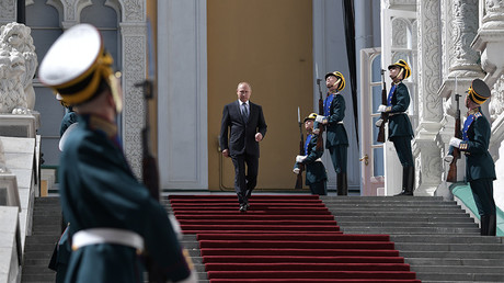 New car, selfies & special tune: 5 biggest moments from Putin's inauguration (VIDEOS)