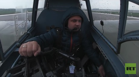 360 flight: Legendary WWII IL-2 aircraft takes to the skies with panoramic camera