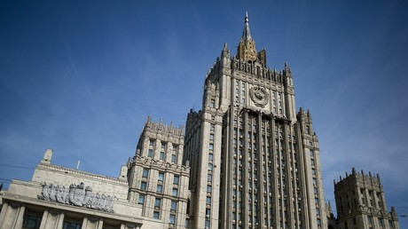 Russian foreign ministry building in Moscow. © Leonid Faerberg