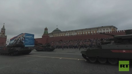 V-Day Parade 360: Terminator at the Red Square
