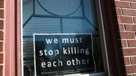 Baltimore passes 100 homicides this year, mayor blames gun makers