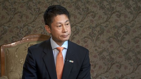 Hidehiko Yuzaki, governor of Japan's Hiroshima Prefecture