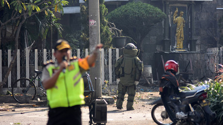 11 killed, some 40 injured in suicide bombings at 3 churches in Indonesia