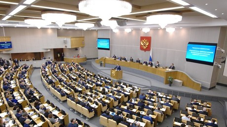 Russian State Duma session © Sergey Kiselyov, Moskva News Agency