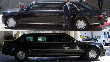 Putin's Aurus Senat vs Trump's Beast: How do cars #1 fare? (PHOTO, VIDEO)