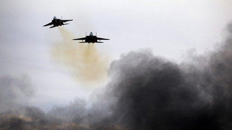 Israeli Air Force strikes Hamas targets on day of bloody protest in Gaza