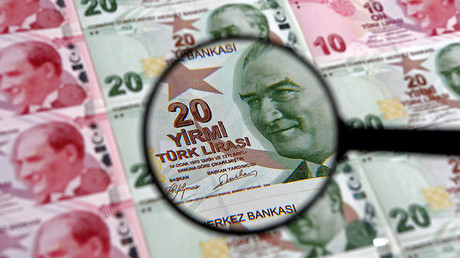 Turkish lira touches record low as Erdogan pledges more govt control of economy