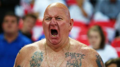 England fan © Kieran Galvin