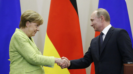 Iran, Syria, energy: What's in store for Putin-Merkel summit in Sochi (VIDEO)