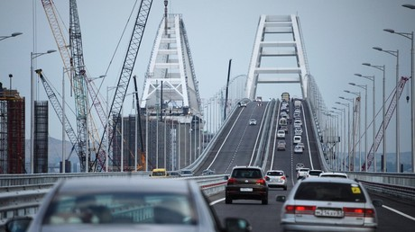 Bomb Putin's bridge, US commentator bizarrely advises Ukraine