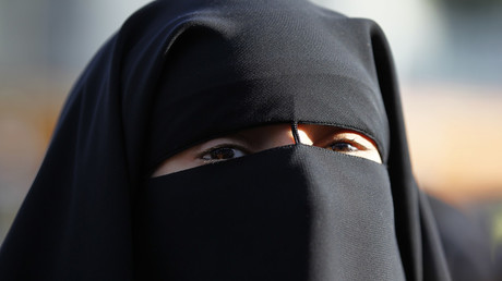 FILE PHOTO showing a woman wearing a niqab. © Charles Platiau