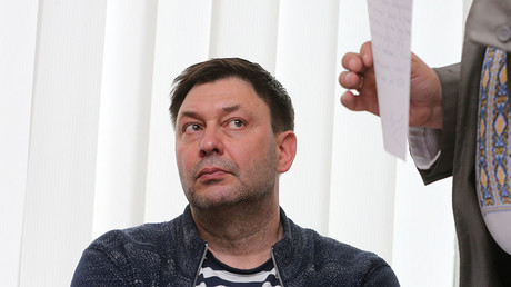 Ukrainian court orders 60 days' detention for chief of Russian-linked news agency amid outcry