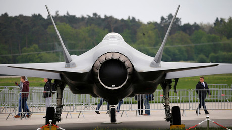 US lawmakers seek to ban sales of F-35s to 'hostile & thuggish' Turkey