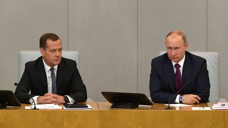 Putin signs decree on new government with all candidates proposed by Medvedev