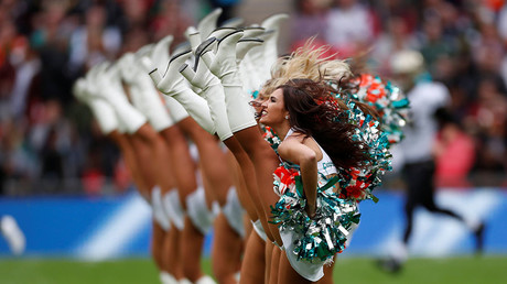 'Barrier-breaking' or 'embarrassing'? First NFL male cheerleaders spark debate