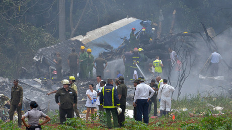 First footage from Cuba plane crash as rescuers look for survivors (PHOTO, VIDEO)