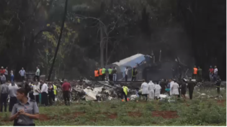 Over 100 killed in Havana airport crash after plane 'struck power line' (VIDEO)