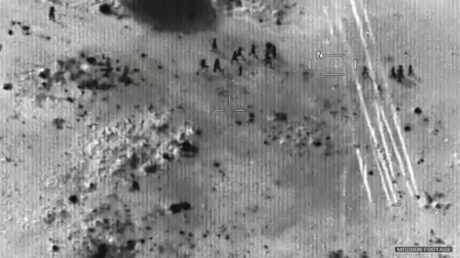 Drone footage shows US troops' last stand & dramatic escape from Niger ambush (VIDEO)
