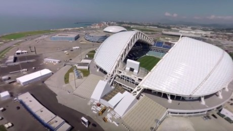 2018 FIFA World Cup: Fisht Stadium in Sochi (360 VIDEO)