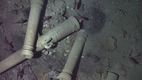 Billion dollar cargo: New details revealed about the 'holy grail of shipwrecks' (PHOTOS)