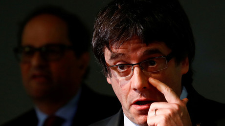 Germany wants to extradite Catalonia's independence leader Carles Puigdemont
