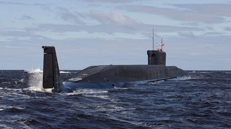 Russian sub test-fires volley of 4 ICBMs across Eurasia