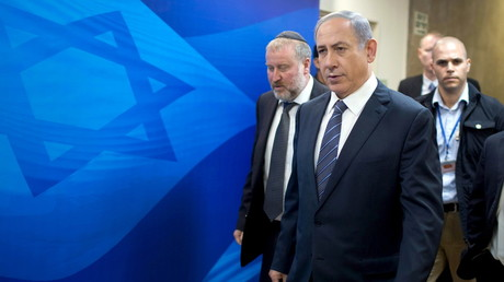 FILE PHOTO Israel's Prime Minister Benjamin Netanyahu arrives at the weekly cabinet meeting in Jerusalem September 6, 2015. ©Menahem Kahana