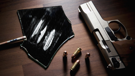 Cocaine, bullets, and a gun. © Caspar Benson