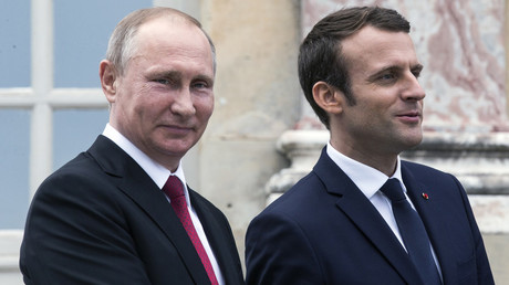 Macron arriving for 'demanding dialogue' with Putin, but France is in poor position to dictate terms