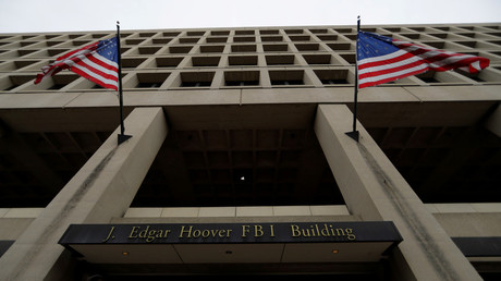 FILE PHOTO: The J. Edgar Hoover Federal Bureau of Investigation (FBI) Building is seen in Washington, DC, US, February 1, 2018 © Jim Bourg