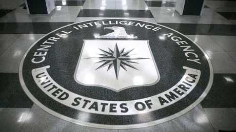 A seal inside the CIA headquarters in McLean, Virginia.