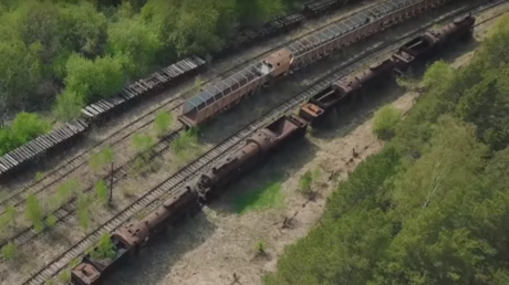 Eerie footage unveils secrets of Soviet-era train graveyard (VIDEO)