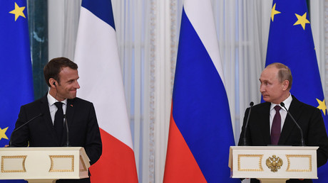 France recognizes Russia's new role in international relations, including in Middle East - Macron