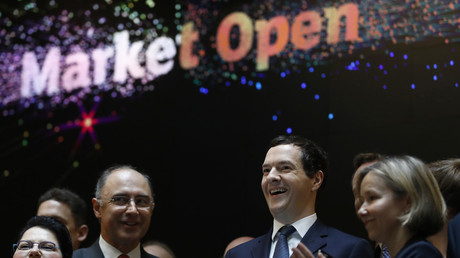 George Osborne takes on job number… 8! For major European investment firm