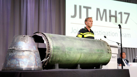 JIT uptade on the investigation of flight MH17 downing. © Francois Lenoir