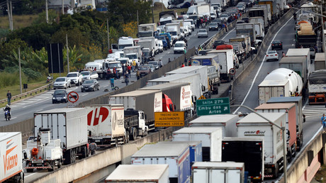 President threatens to use army to clear Brazil truckers blocking roads in protest (PHOTOS, VIDEO)