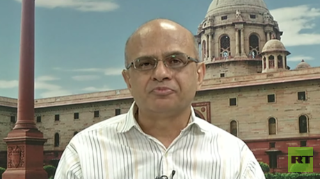 Trading blows? Brahma Chellaney, professor of Strategic Studies at the Center for Policy Research
