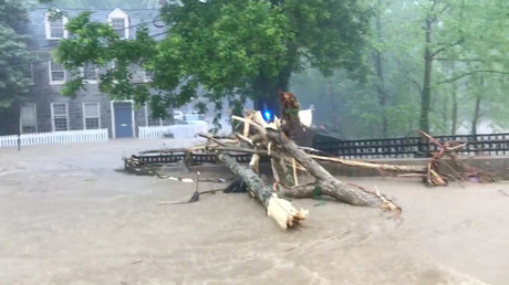 Most dramatic images of Maryland's catastrophic flash flood (VIDEOS)