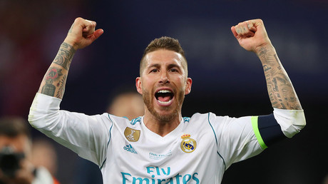 'You're a coward, prove me wrong': Livid Liverpool fan challenges Ramos to boxing match