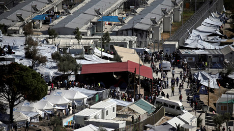 'Infidels': Kurds attacked at Greek refugee camp for 'not fasting during Ramadan' (GRAPHIC VIDEO)